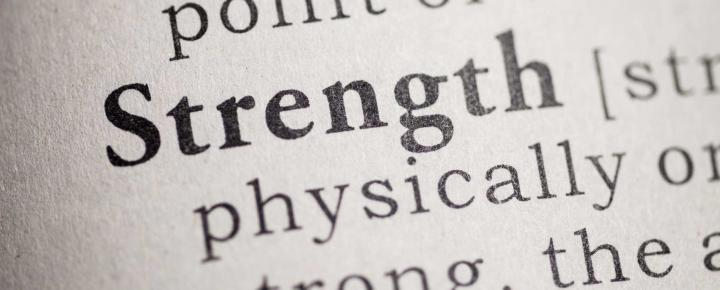 The word 'Strength' in the dictionary