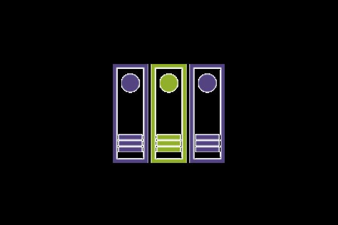 File boxes icon